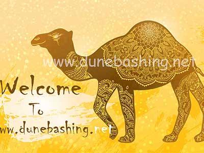 camel ride with dunebashing