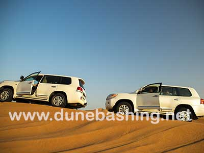 dunebashing in morning safari