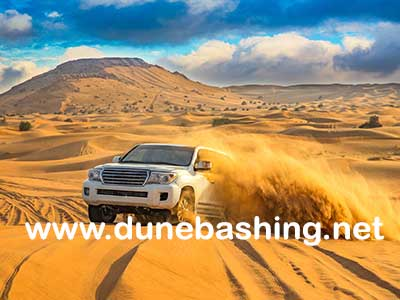 morning dune bashing